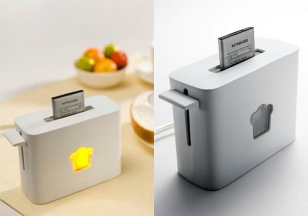 Зарядное устройство-тостер