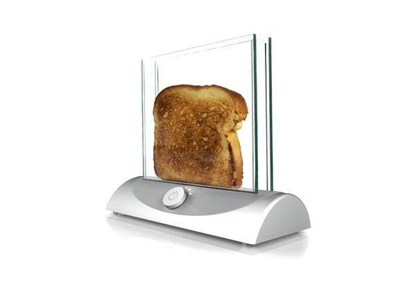 Прозрачный тостер