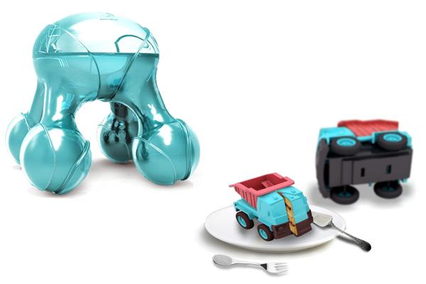Пещевой 3D-принтер Atomium