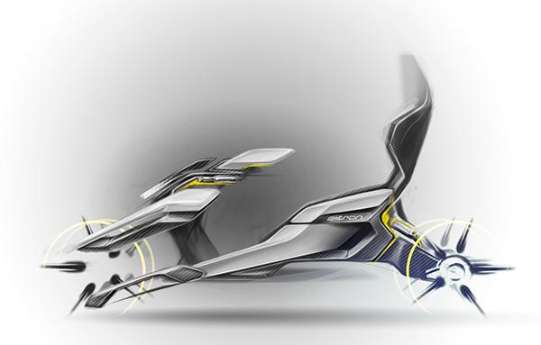 Скетчи Audi Nexus