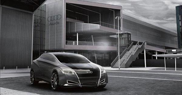 Футуристичный концепт универсального кроссовера от Audi