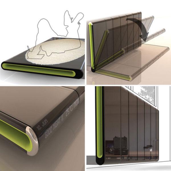 Кровать-батарея Bediator обеспечит уют в комнате