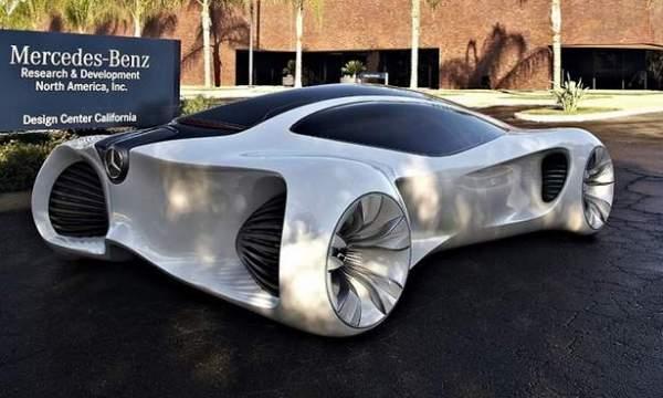 Mercedes-Benz BIOME: полное единение автомобиля с природой