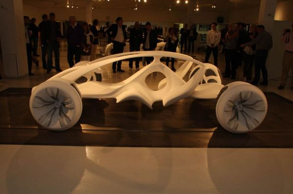 Скелет Mercedes-Benz BIOME, представленный Mercedes-Benz Advanced Design Studio