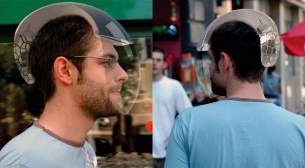 Концепт шлема CAIR