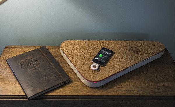 #concretecharger – бетонный матрас для смартфона