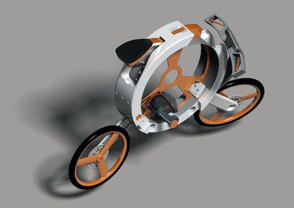 Велосипед Donut, сворачивающийся в «калачик»