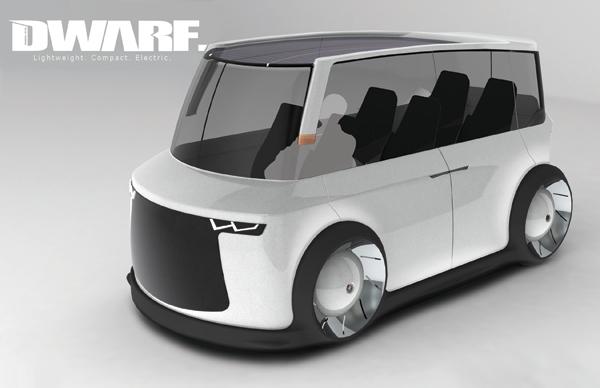 Футуристичный микроавтобус Dwarf