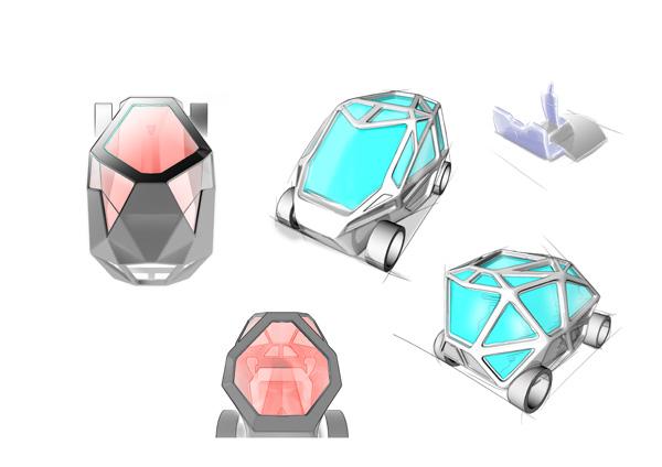 Разработка дизайна EXO