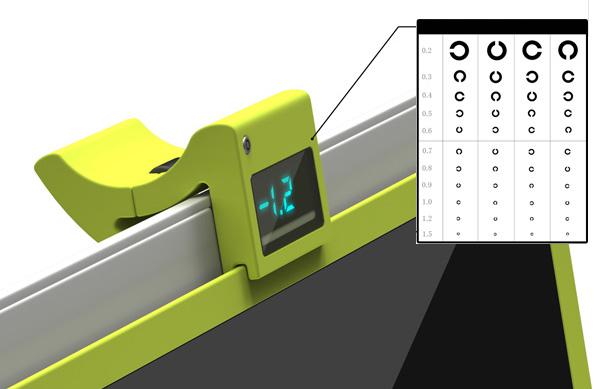 Цифровой корректирующий экран для людей с нарушением зрения i-Free