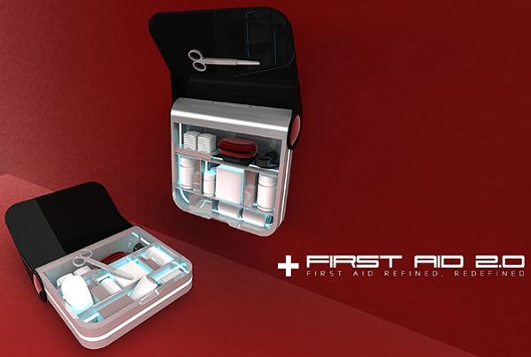 Высокотехнологичная аптечка первой помощи First Aid 2.0