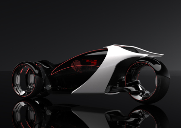 Концепт три-виллера Hyundai Aebulle