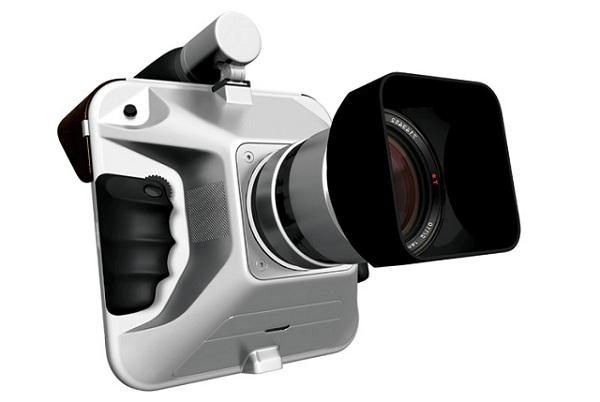 Концепт компактной профессиональной камеры IO