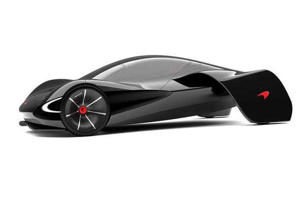 Экологичный суперкар McLaren JetSet