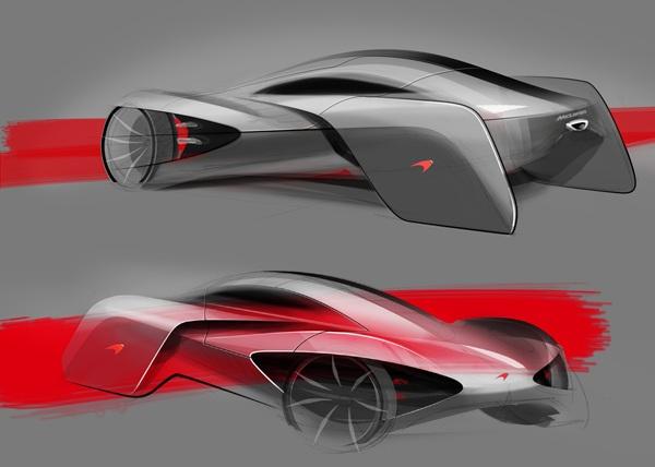 Ранний концепт McLaren JetSet