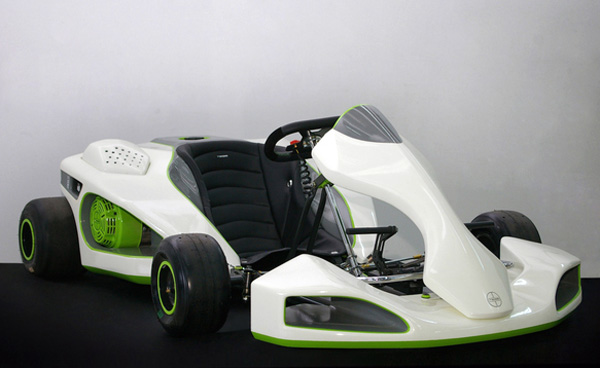 Прототип легендарного автомобиля из видеоигры Mario Kart