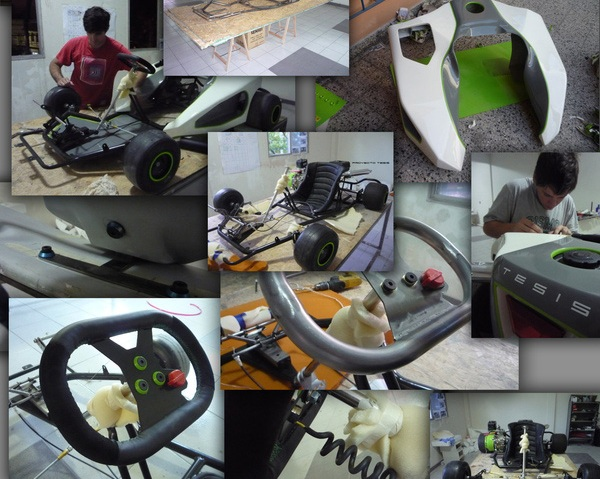 Процесс создания Mario Kart