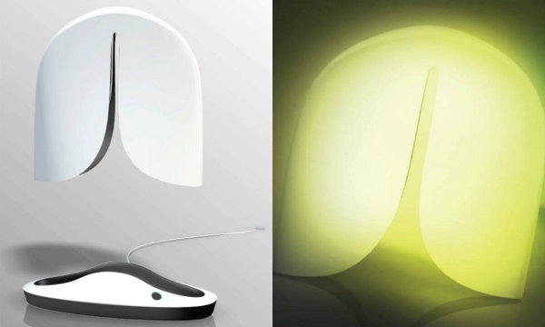 Lung Lamp оповещает владельца об опасности воздуха с помощью свечения