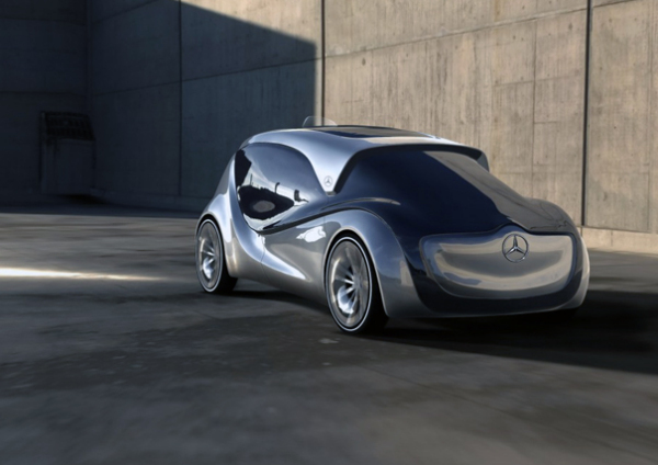 Экологичное вместительное такси Mercedes-Benz Nimbus