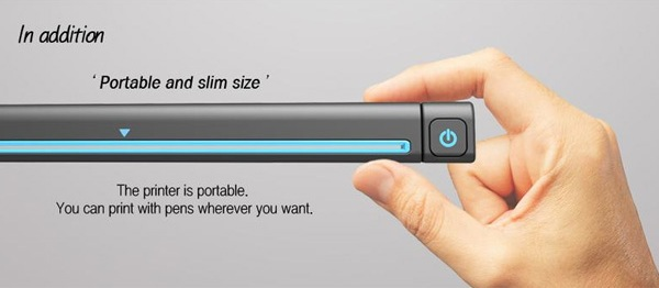 Компактный Pen Printer прост и удобен в использовании