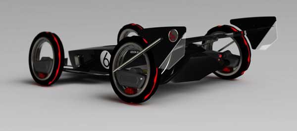 Концепт Poursuivreve создан в духе старинных спортивных автомобилей