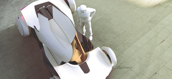 Открытая кабина Koenigsegg Prestera