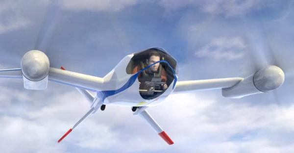 Экологичный и бесшумный летательный аппарат будущего