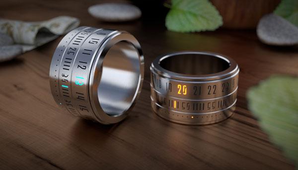 Часы-кольцо Ring Clock