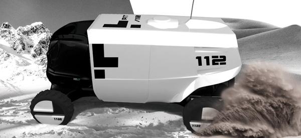 Внедорожный автомобиль скорой помощи RT 112