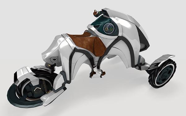 Концепт три-виллера Saddle