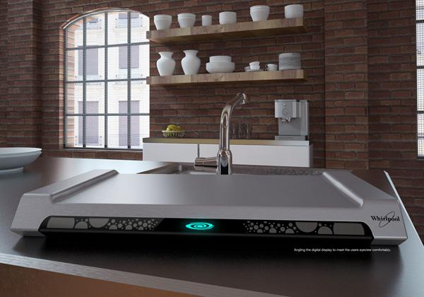 Концепт подноса-плиты Smart Tray