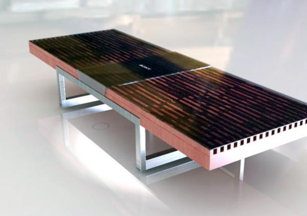 Sound Lounge: акустическая система внутри кофейного столика
