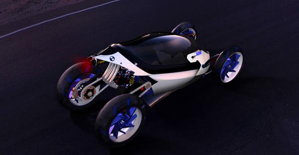 Концепт BMW Tandem