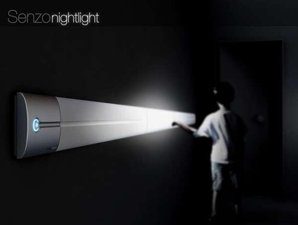 Senzo Nightlight загорается от прикосновения