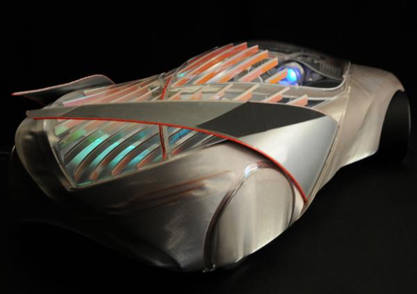 The Car of Light излучает свет, создающий комфортную атмосферу для водителя