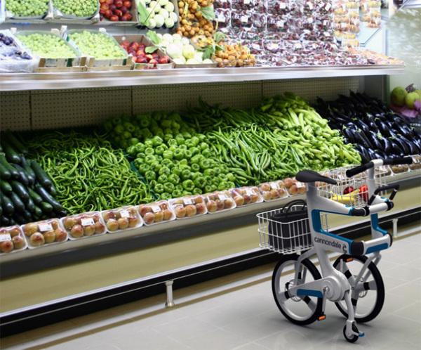 Ville идеально подходит для поездок за продуктами