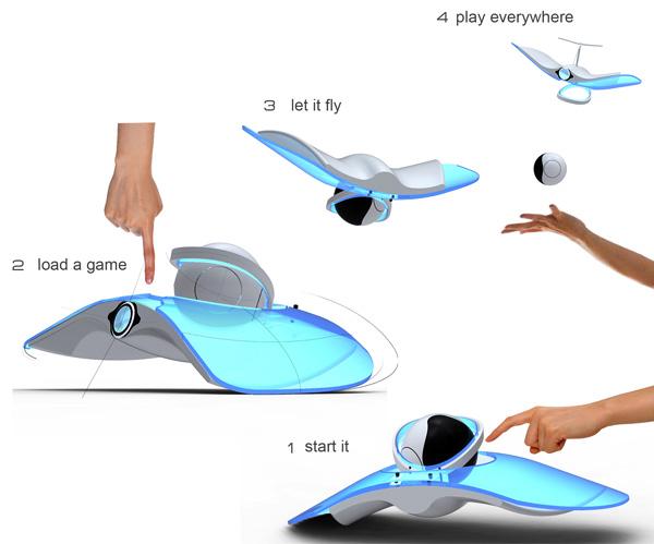 Робот-игровая приставка Wii Fly