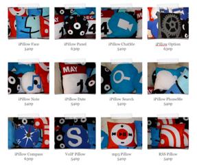 Mac OS X Style подушки