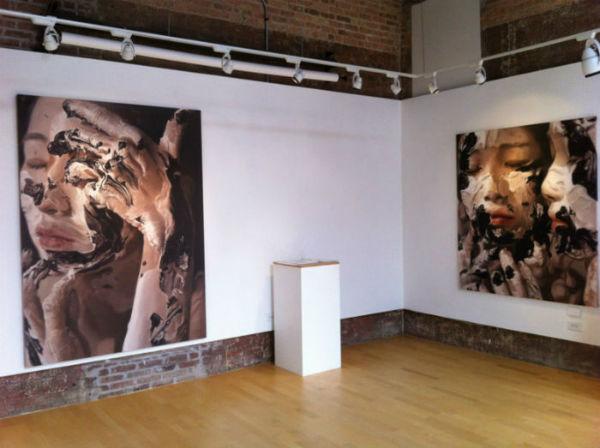 Выставка талантливой кореянки
