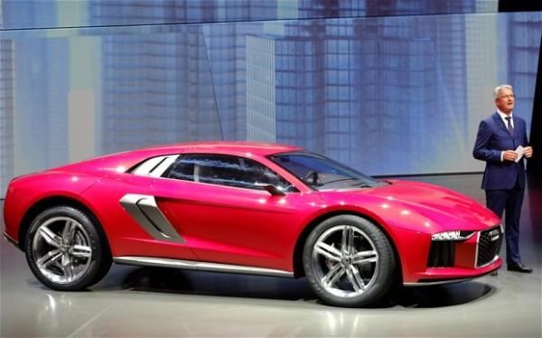 Концепт кроссовера-спорткара Audi Nanuk quattro