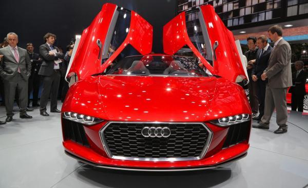 Концепт Audi Nanuk quattro