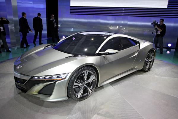 Концепт Honda (Acura) NSX