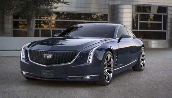 Концепт роскошного купе Cadillac Elmiraj