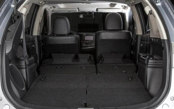 Вместительный багажник Mitsubishi Outlander 2014