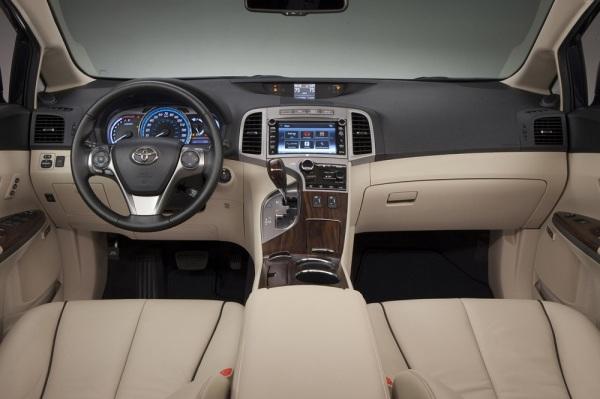 Интерьер Toyota Venza