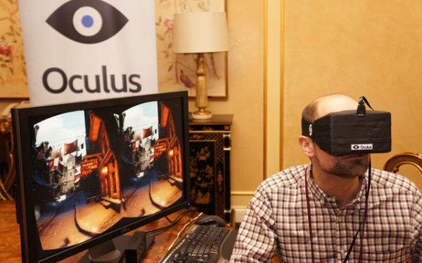Очки для геймеров Oculus Rift