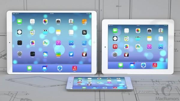 Новая линейка iPad 2014 года