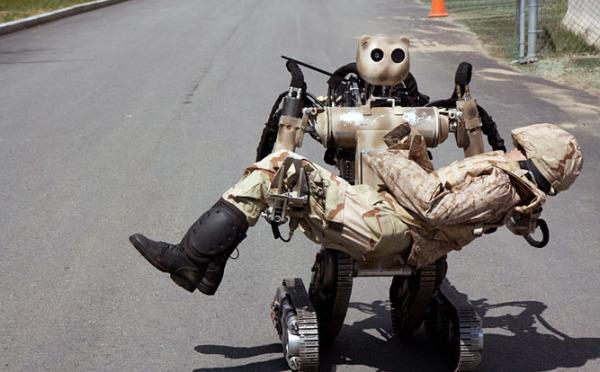 Военный спасательный робот BEAR