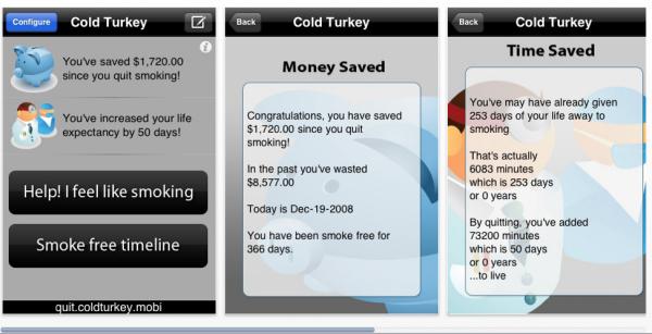 Приложение для iPhone Cold Turkey