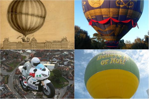 Обзор самых интересных и необычных воздушных шаров